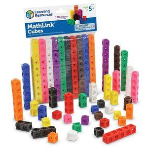 Learning Resources Math Link Cubes NEW